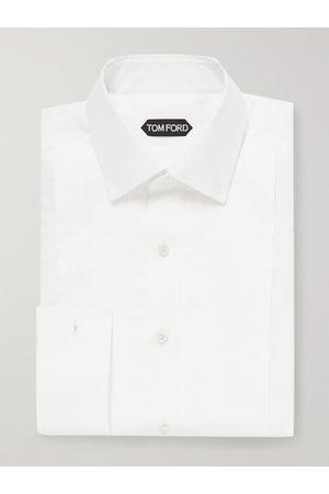Tom Ford Men Business - Bib-Front Cotton Tuxedo Shirt