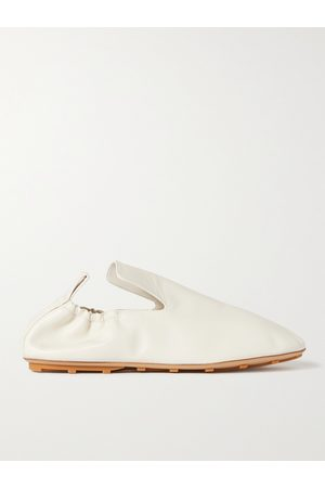BOTTEGA VENETA Men Loafers - Lattice Leather Loafers
