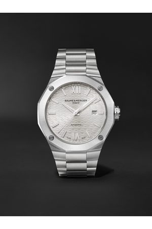 Baume & Mercier Men Watches - Riviera Automatic 42mm Stainless Steel Watch, Ref. No. M0A10622