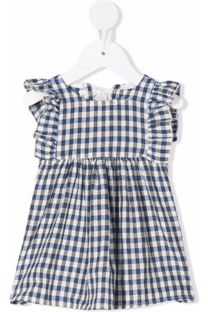 Zhoe & Tobiah Gingham-check print dress