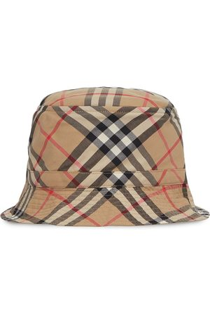 Burberry Kids Vintage Check print bucket hat