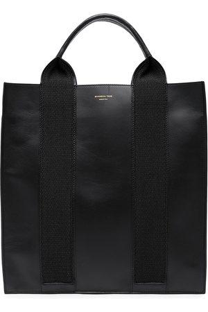 Shanghai Tang X Yuni Ahn North South leather tote bag