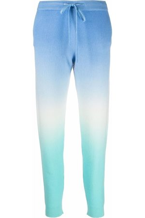 Chinti and Parker Women Trousers - Tie-dye cashmere trackpants