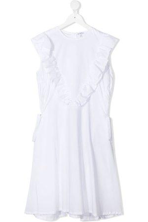 Piccola Ludo TEEN ruffle-detail dress