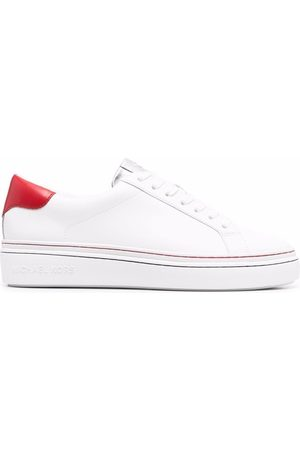 Michael Michael Kors Panelled low-top leather sneakers