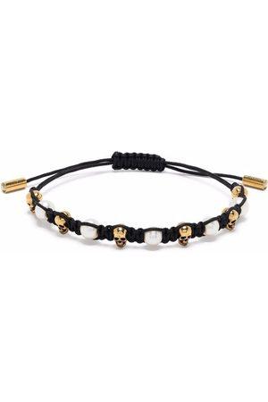 Alexander McQueen Skull charm friendship bracelet