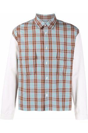 Comme Des Garçons Pre-Owned 1990s plaid check shirt