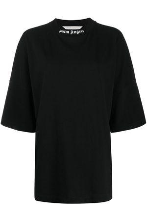 Palm Angels Logo Over T-shirt