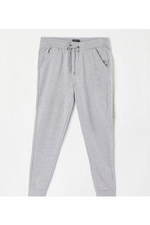 Brave Soul Men Skinny Pants - Plus skinny jogger in light marl