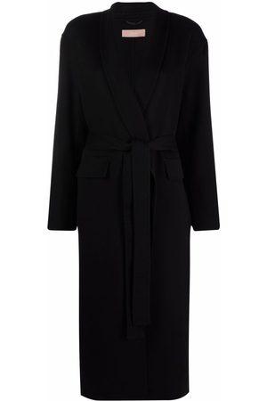 12 STOREEZ Longline wool-blend knit cardi-coat
