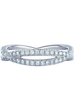 KWIAT 18kt white gold diamond Fidelity ring