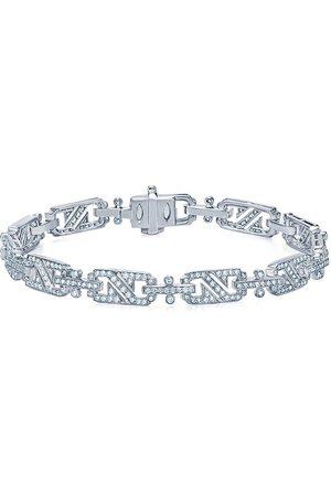 KWIAT Women Bracelets - 18kt white gold diamond Splendor rectangular link bracelet
