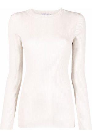 Brunello Cucinelli Fine-knit long-sleeved top