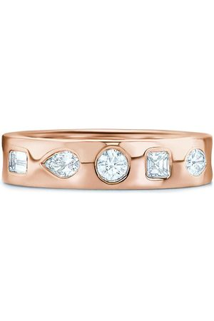 KWIAT 18kt rose gold diamond stackable ring