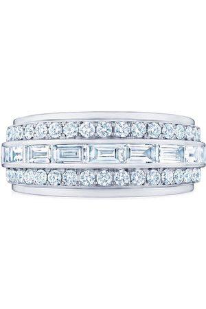 KWIAT 18kt white gold diamond Cascade Linear ring