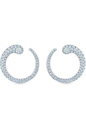 KWIAT 18kt white gold diamond Eclipse earrings