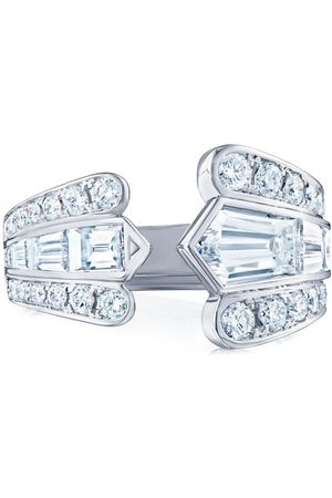 KWIAT 18kt white gold diamond Cascade open ring