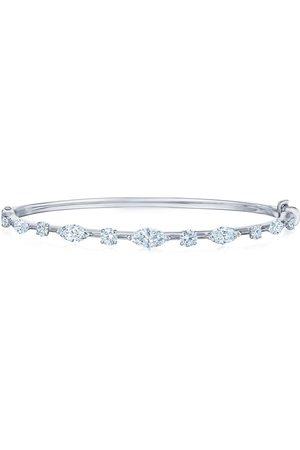 KWIAT 18kt white gold diamond Starry Night bangle