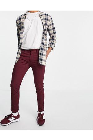 Farah Men Chinos - Drake chino twill slim fit trousers