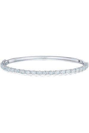 KWIAT Women Bracelets - 18kt white gold oval diamond bangle