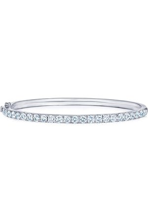 KWIAT 18kt white gold diamond stackable bangle