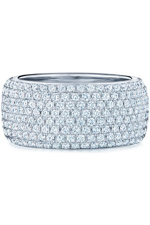 KWIAT 18kt white gold diamond Moonlight eight-row ring