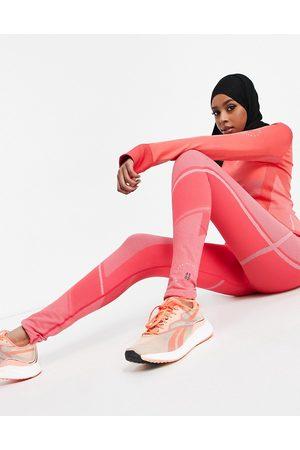 ASOS 4505 Women Leggings - Seamless legging with colourblock contour