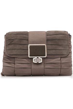 Balenciaga Pre-Owned Pleated flap clutch