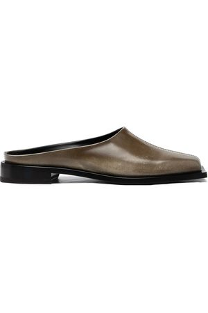 Peter Do Square-toe leather mules