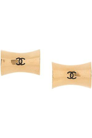 Chanel Pre-Owned CC Jumbo clip-on earrings