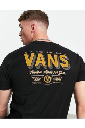 Vans Men Short Sleeve - East End back print t-shirt in