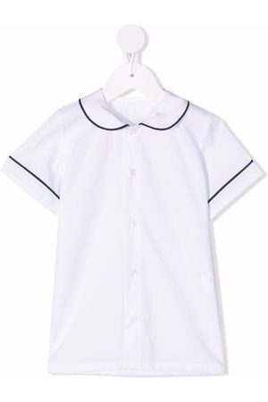Siola Stripe-detail short-sleeve shirt