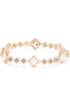 Roberto Coin 18kt rose gold Palazzo Ducale diamond bangle bracelet