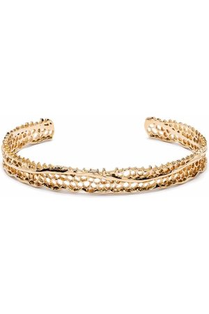 Aurelie Bidermann 18kt yellow Thin Lace bracelet