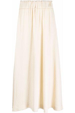 Totême High-waisted pleated skirt