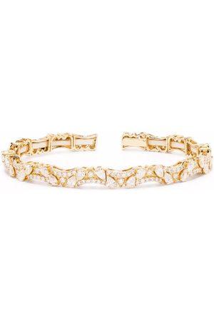 Monan 18kt yellow diamond cuff bracelet