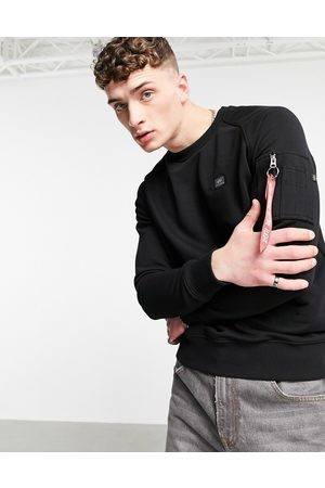 alpha industries X-Fit regular fit sweatshirt in