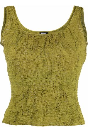 Gianfranco Ferré Pre-Owned 1990s ruched tank top