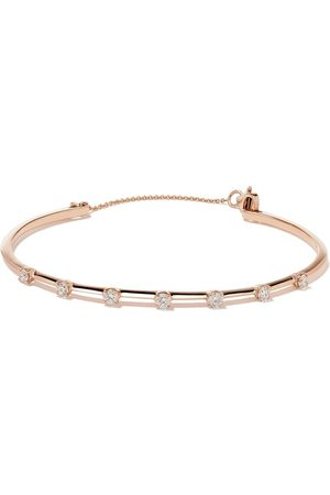 AS29 Women Bracelets - 18kt rose Mye Diamond Bangle
