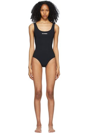 Jil Sander Logo One-Piece Swimsuit