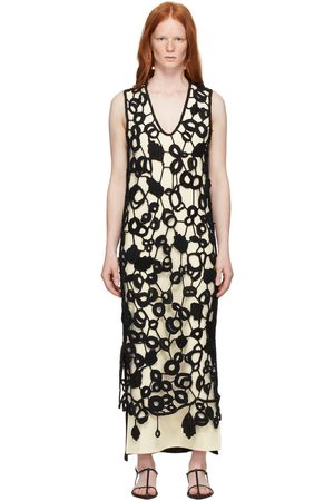 Jil Sander Hand-Knit Crochet Dress