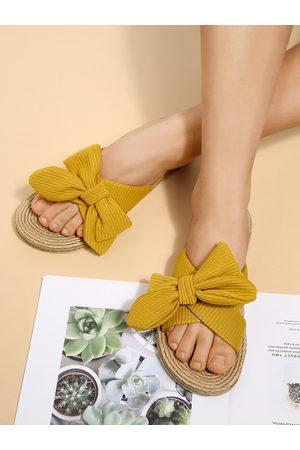 YOINS Bowknot Flat Sandals