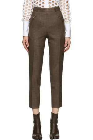 Maison Margiela Wool Pleated Trousers