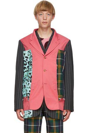 Comme des Garçons Homme Plus Multicolor Wool & Silk Blazer
