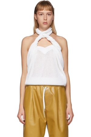 Givenchy Open Knit Halter Top