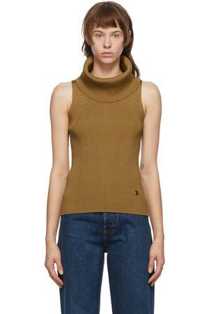 Balmain Beige Knit Turtleneck