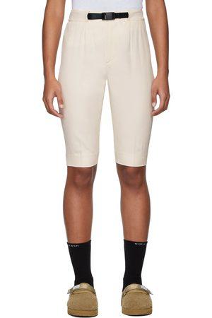 Women Bermudas - John Elliott Off-White Bermuda Shorts