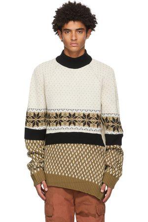 Marine Serre Multicolor Regenerated Mélange Sweater