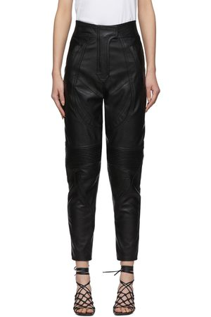 Stella McCartney Faux-Leather Alter Trousers
