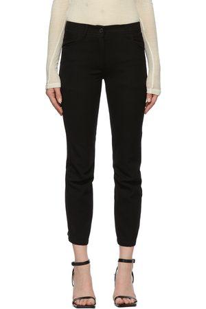 Ann Demeulemeester Wool & Cotton Trousers